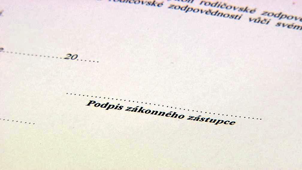 Nezbytný podpis