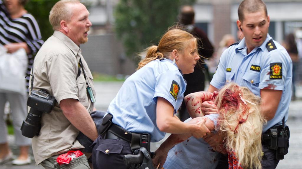 Oběť pumového útoku v Oslu