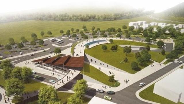 Vizualizace nového vstupu do Zoo Brno