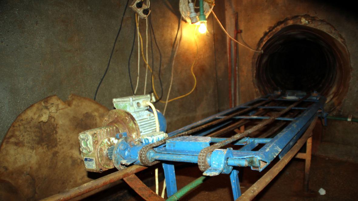 Pašerácký tunel