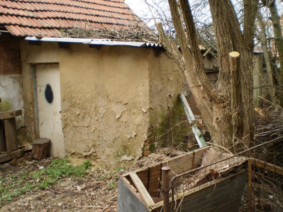 Dům v Kamenné čtvrti před demolicí