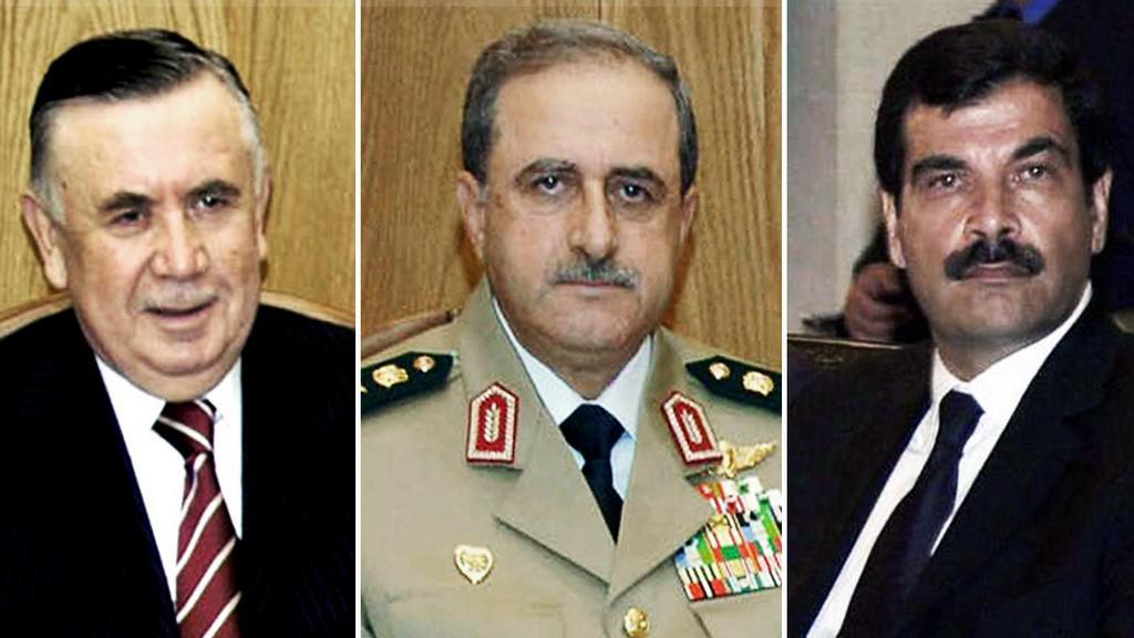 Dáúd Radžha, Hasan Turkmaní, Ásif Šaukat
