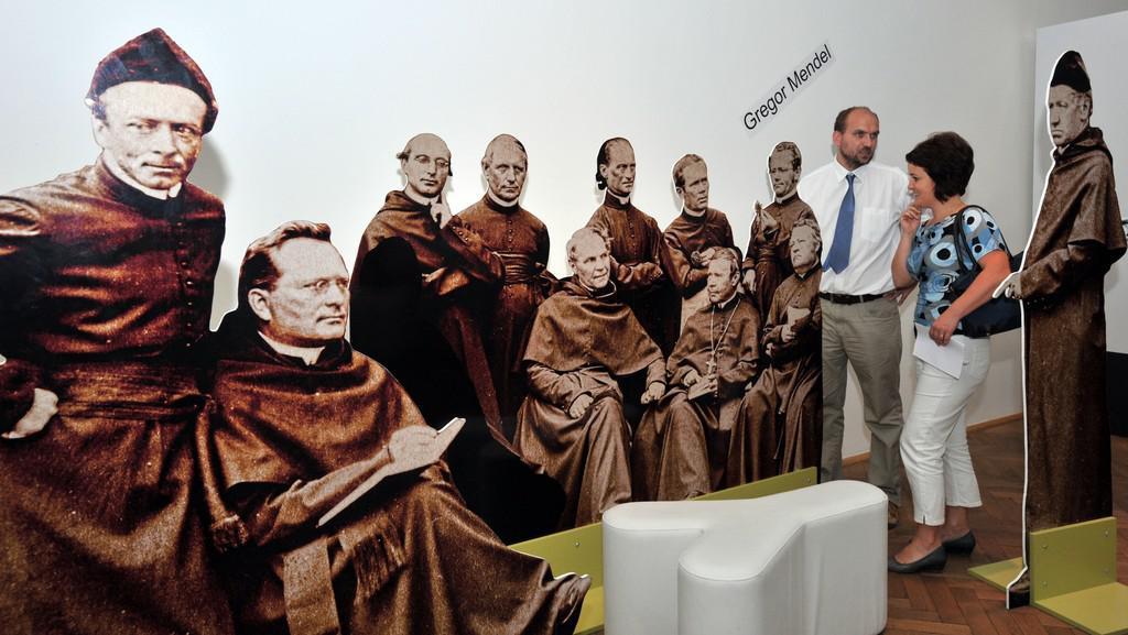 Výstava Mendel 190 v Národním technickém muzeu