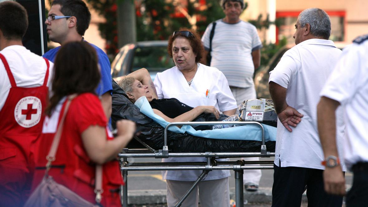 Zranění po atentátu v Burgasu