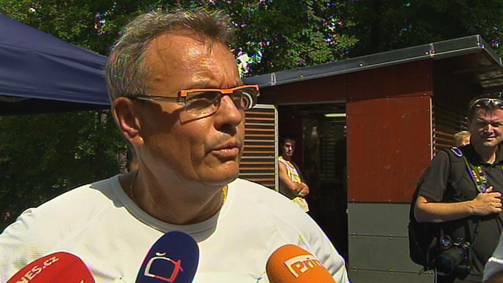 Vladimír Dlouhý na startu své běžecké kampaně