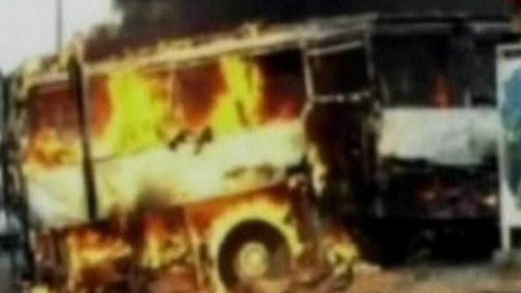 Výbuch autobusu v Burgasu