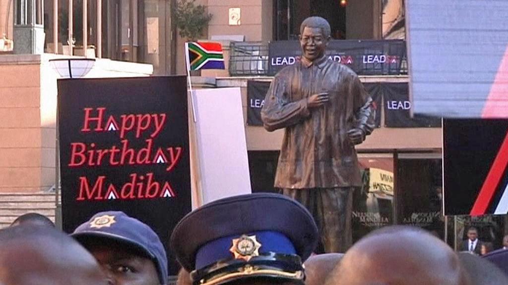 Oslavy narozenin Nelsona Mandely