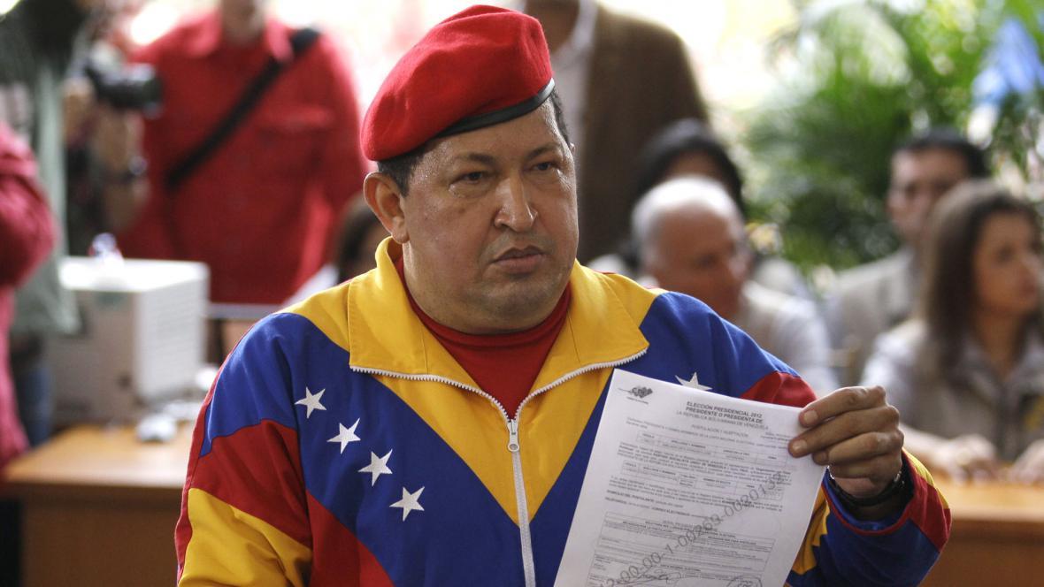 Hugo Chávez chce být znovu prezidentem
