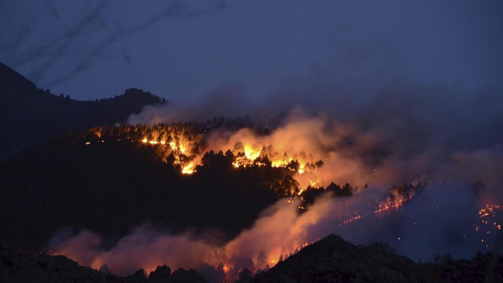 Jižní Evropa v plamenech