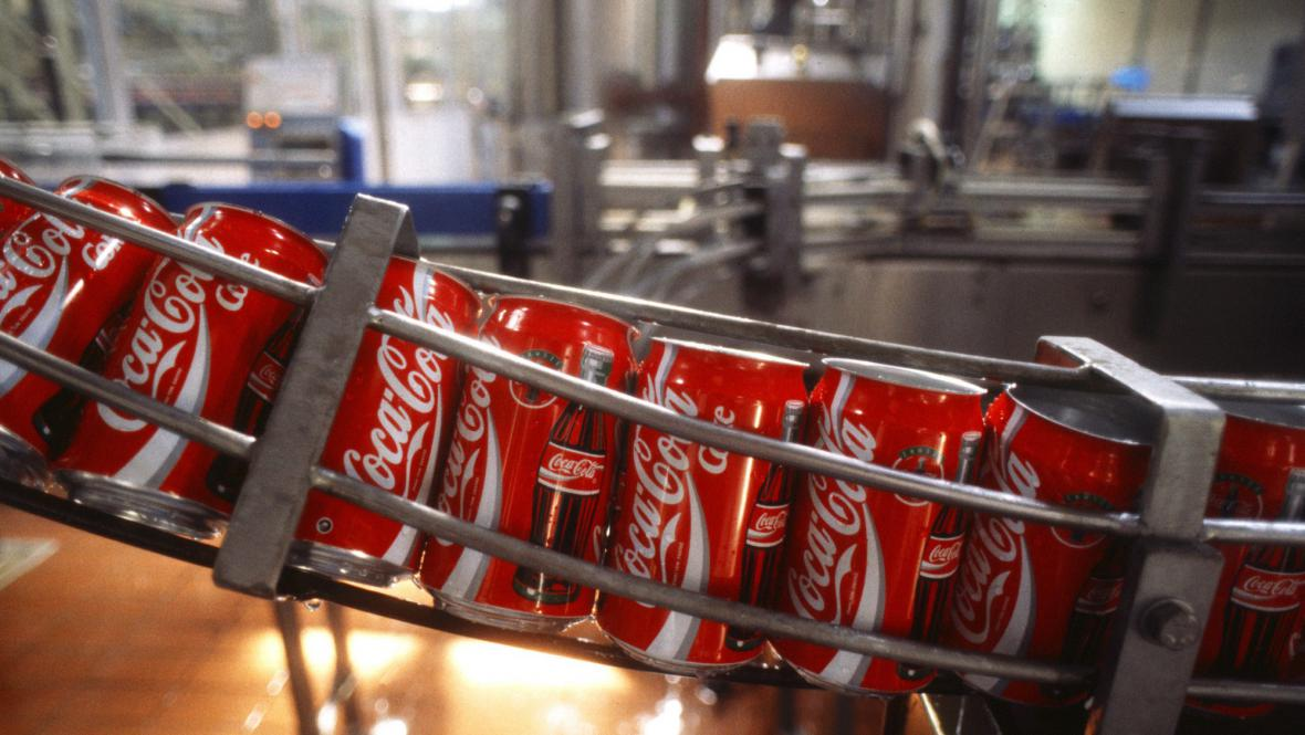 Plechovky Coca-Coly