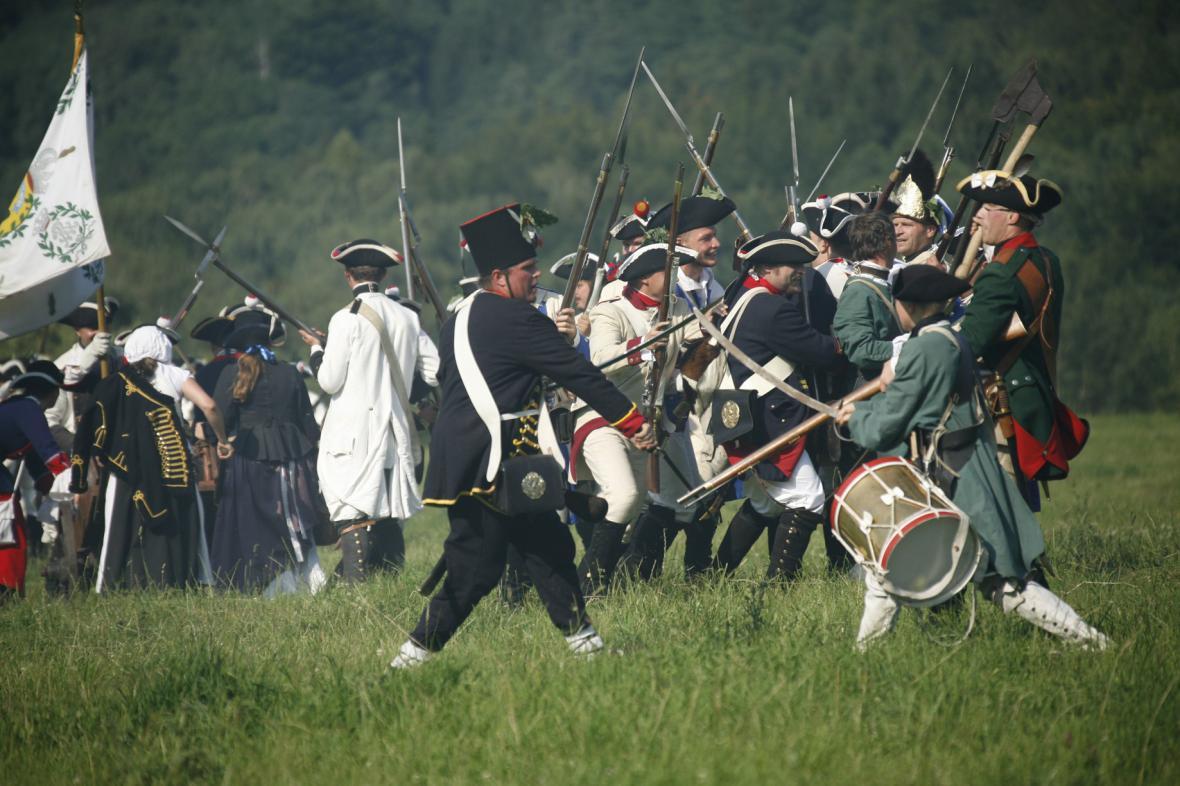 Rekonstrukce bitvy pod Studencem