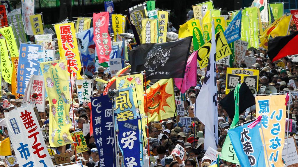 Japonci protestují proti jaderné energetice