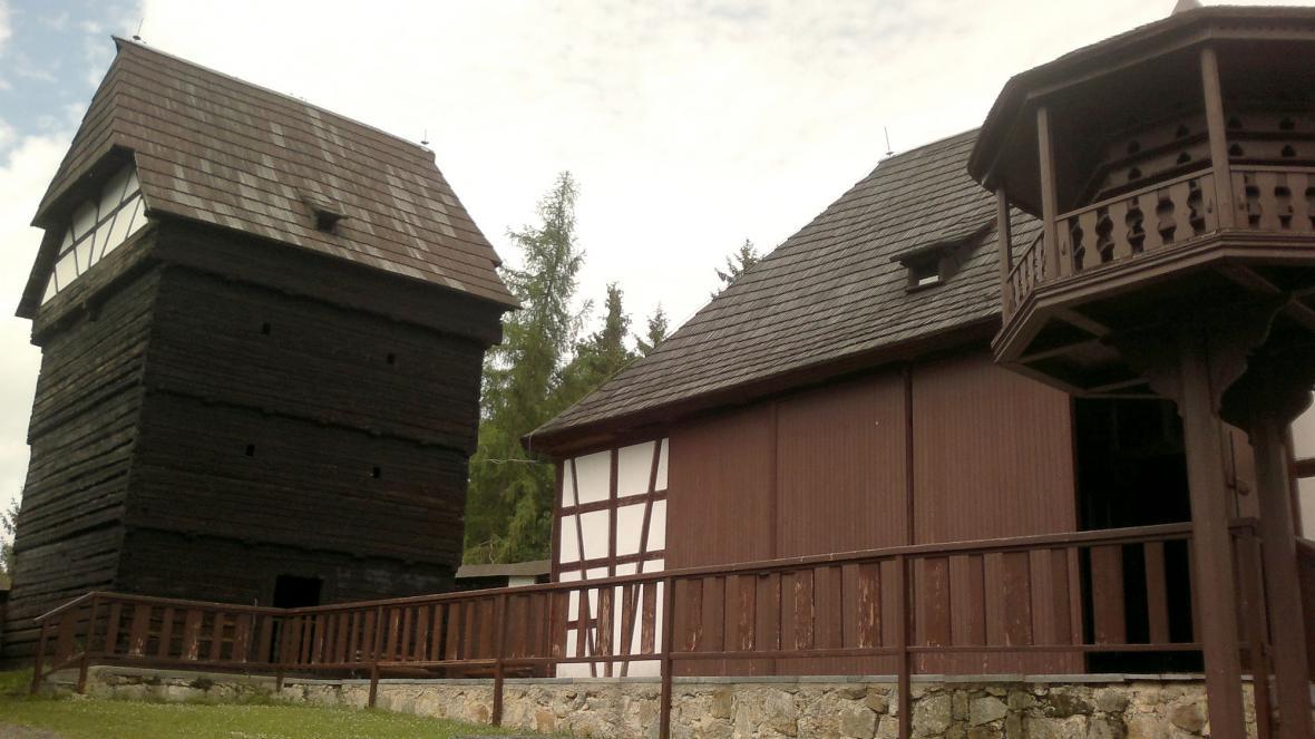 Špejchar a stodola - i to je Seeberg