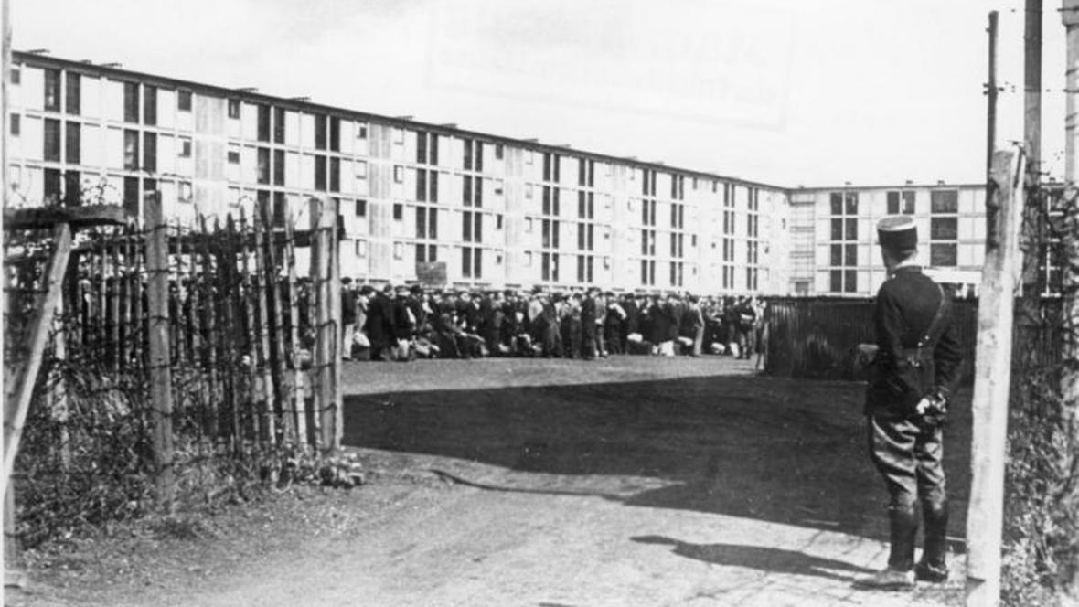 Koncentrační tábor Drancy u Paříže
