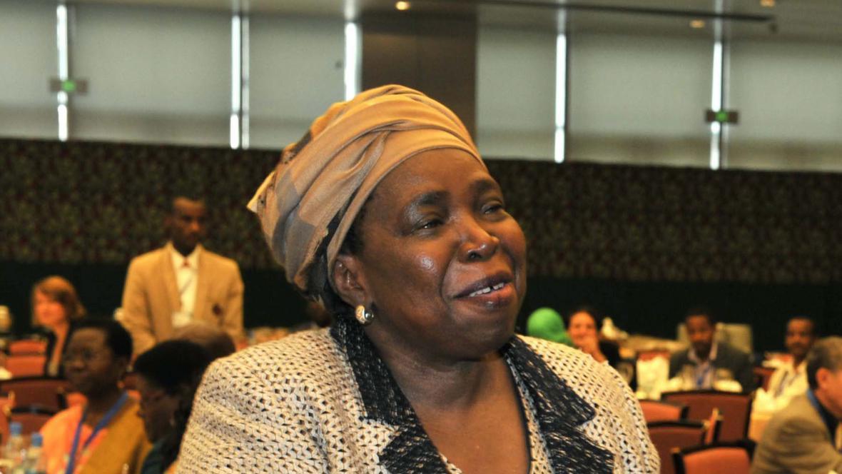 Nkosazana Dlaminiová-Zumová
