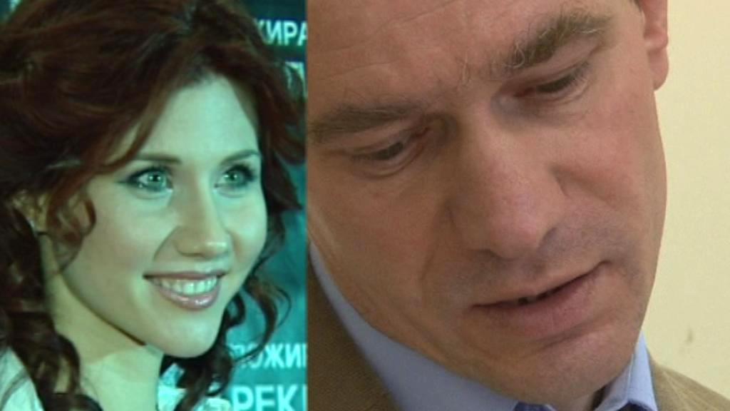 Anna Chapmanová a Igor Suťjagin