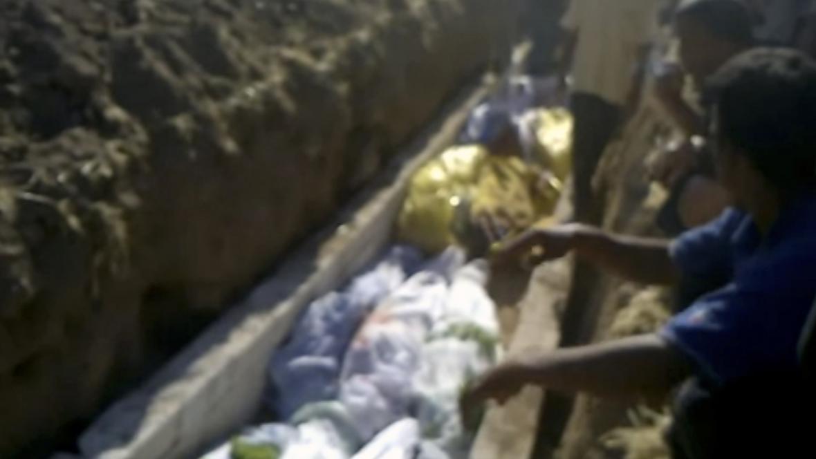 Oběti masakru v Trímse