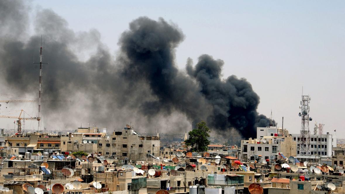 Ostřelování Damašku