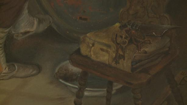 Quido Mánes / Starožitník (detail)