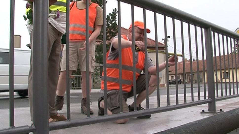 Odborníci zkoumají stav mostů