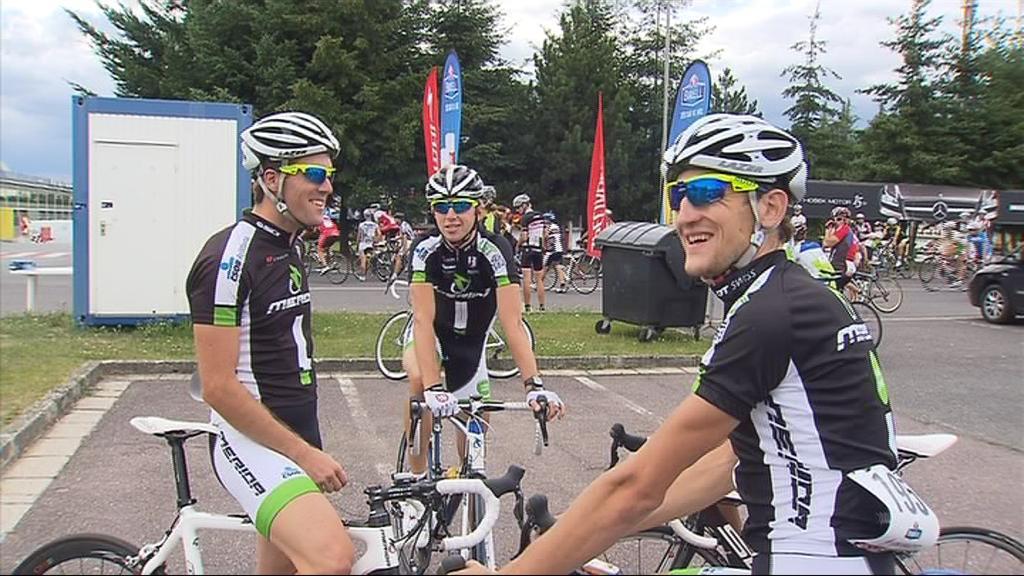 Členové Merida biking teamu