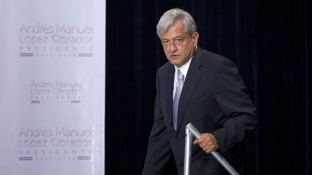 Mexický kandidát na prezidenta Andrés Manuel López Obrador