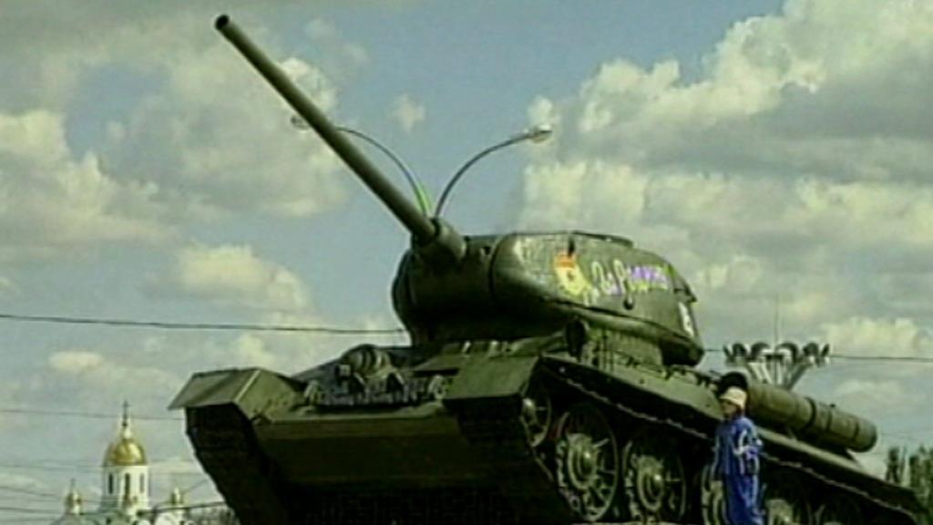 Tank v Moldávii