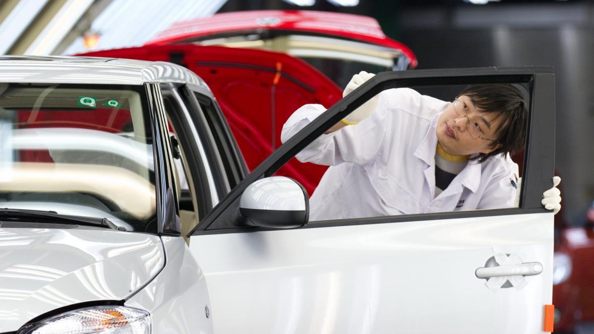 Škoda Auto v Číně