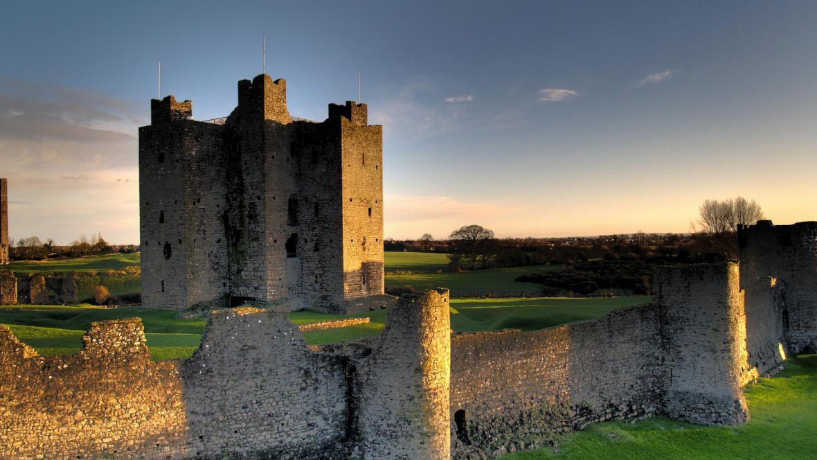 Irský hrad Trim