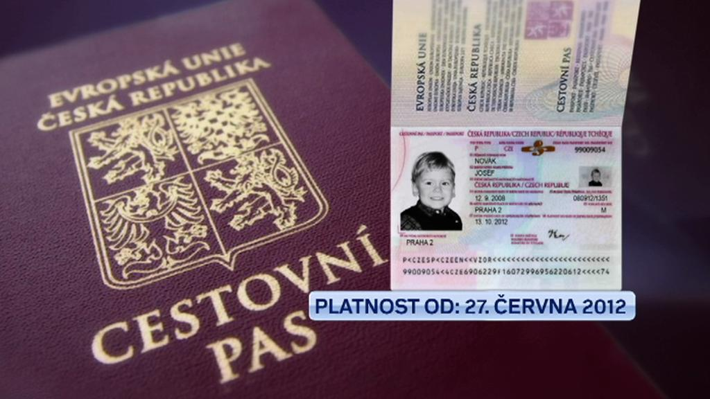 Cestovní pas pro děti