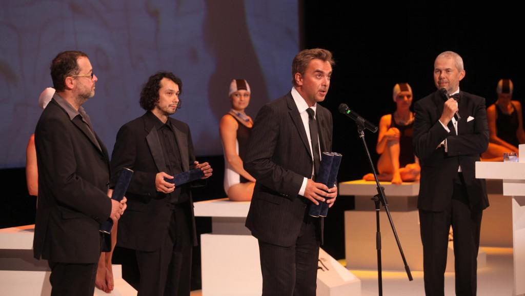 Josef Polášek, Pavel Liška, Tomáš Matonoha a Marek Eben