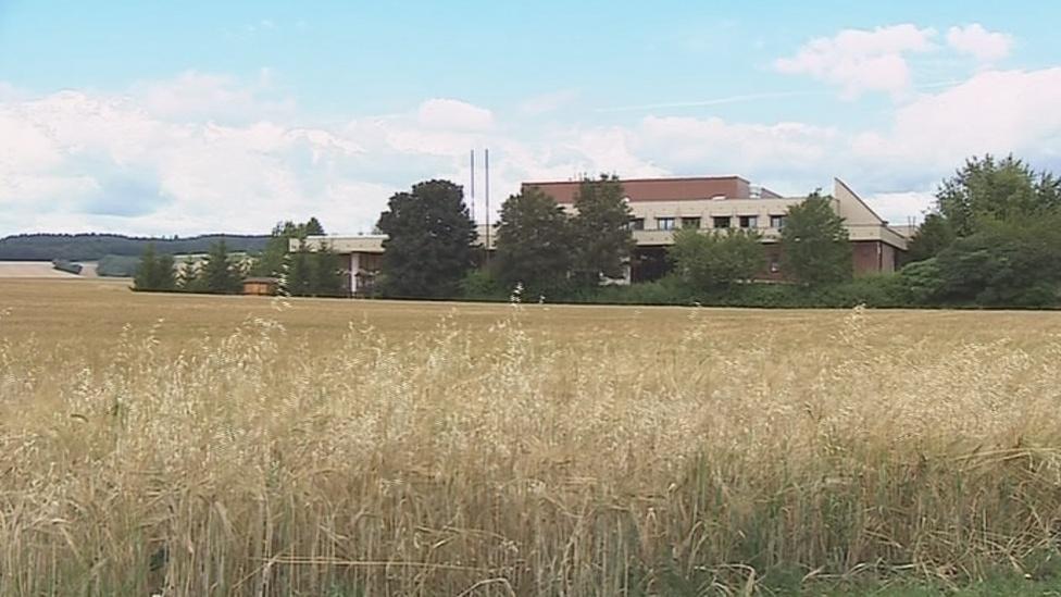 Posádkový dům armády ve Vyškově chátrá