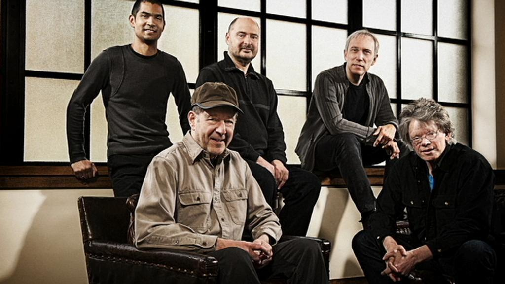 Smyčcový kvartet Kronos Quartet se skladatelem Stevem Reichem