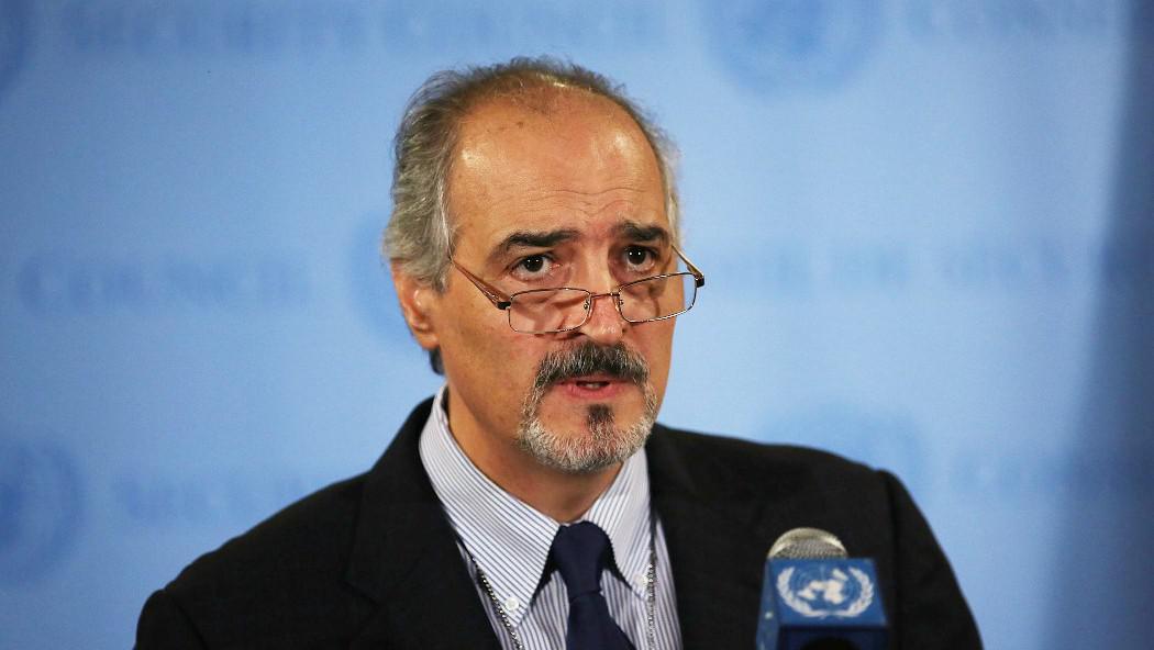 Syrský velvyslanec v OSN Bashar Jaafari