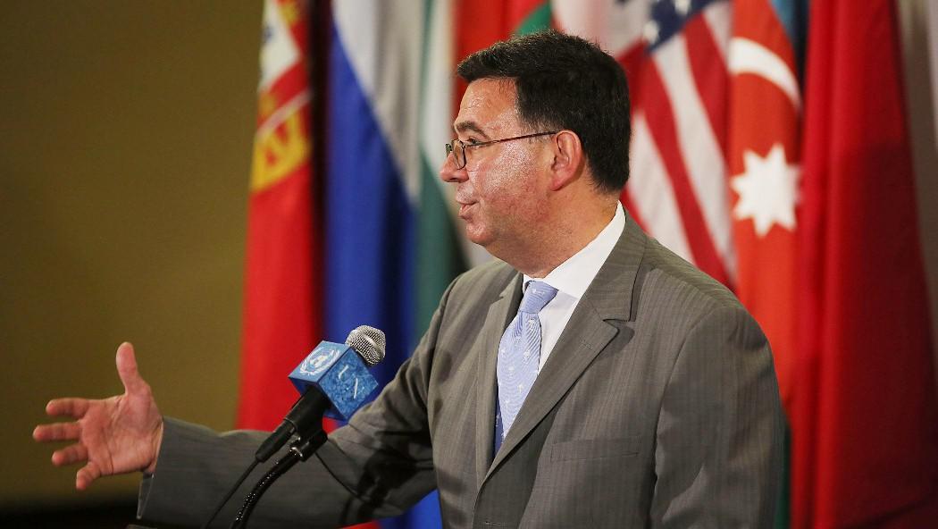 Ruský velvyslanec v OSN Alexandr Pankin