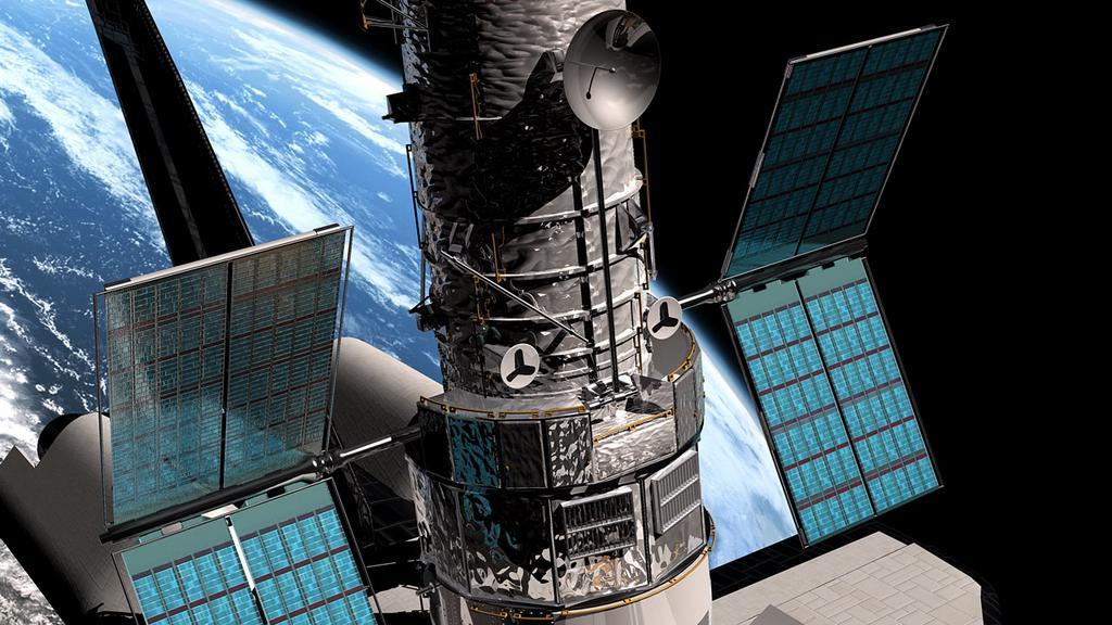 Solární panely ve vesmíru