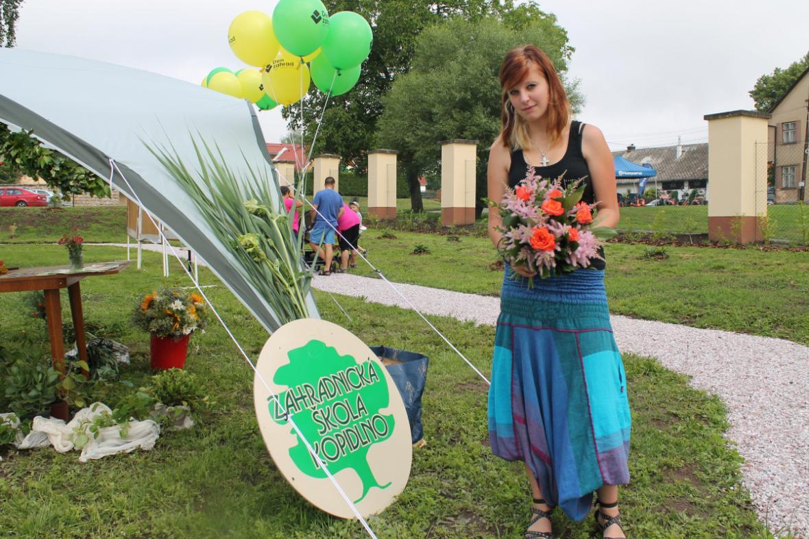 Zahradníci z Kopidlna na slavnosti ve Vítězné