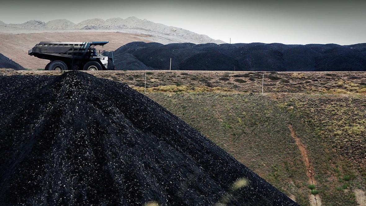 Těžba uhlí v Austrálii