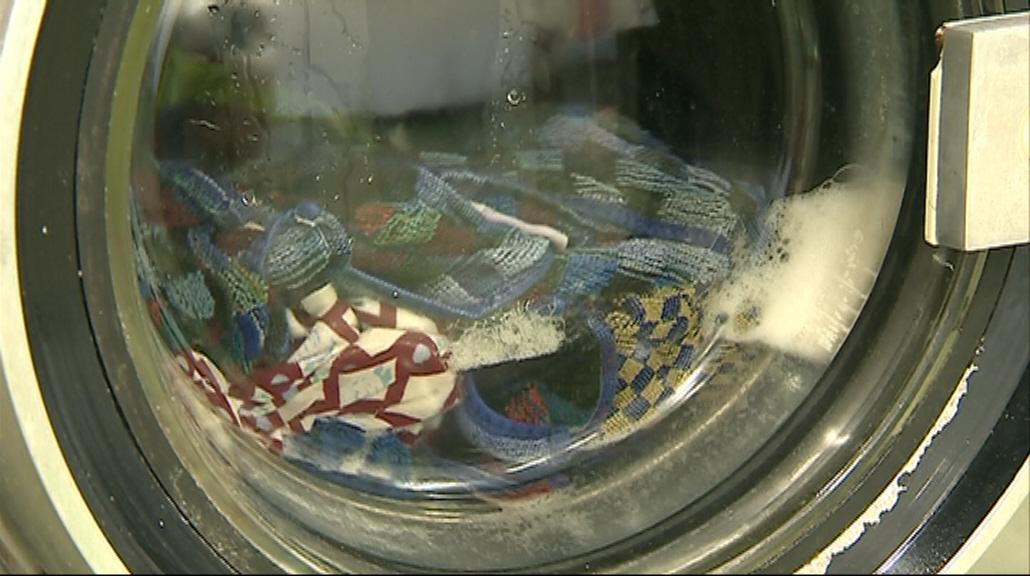 V prádelně perou například okolní obecní úřady či mateřské školky