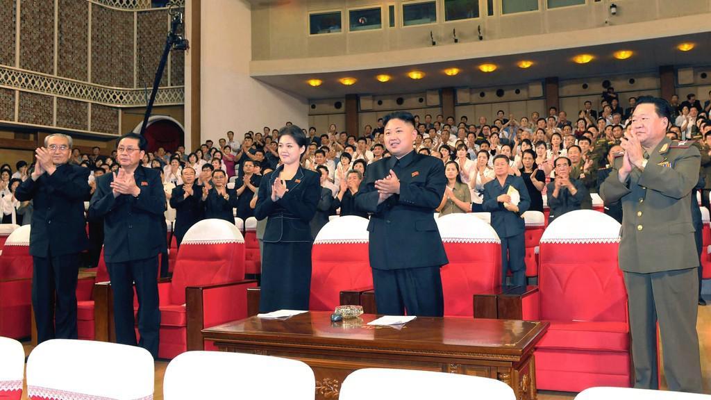 Tajemná žena po boku Kim Čong-una