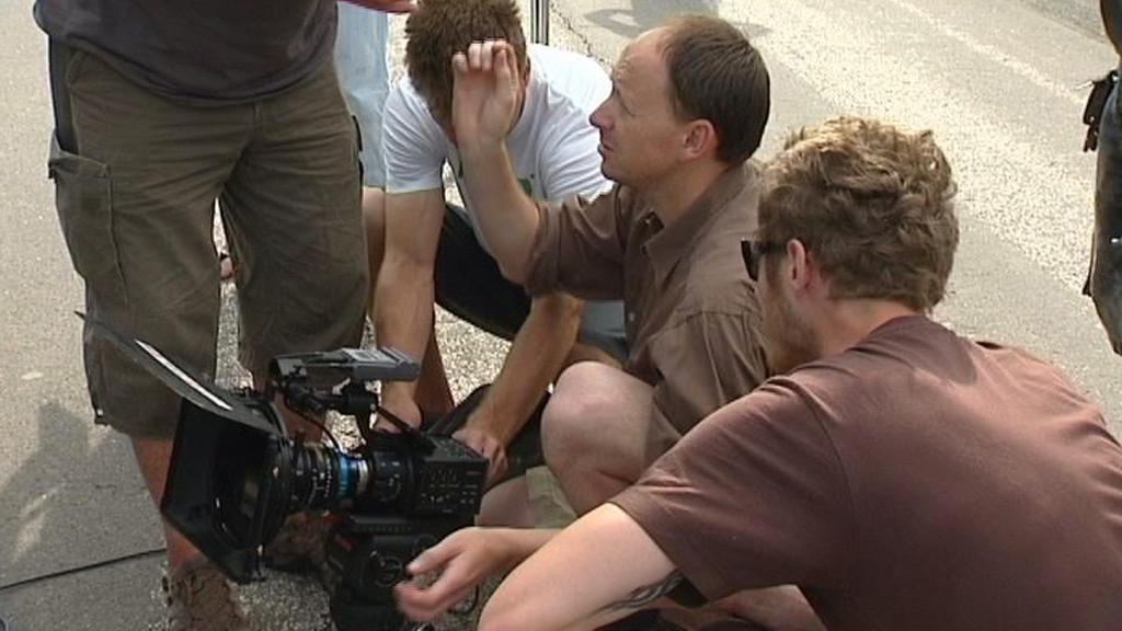 Natáčení nového filmu Occamova břitva