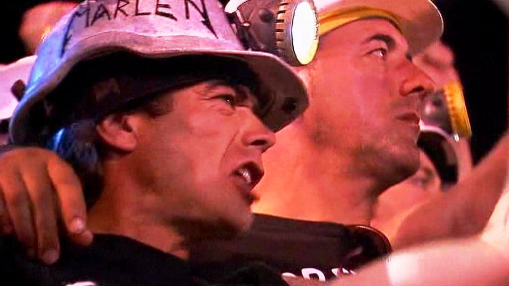 Protest španělských horníků