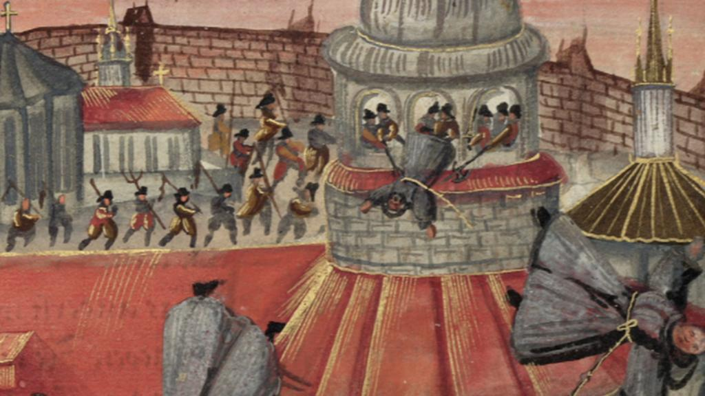 Zabíjení františkánů