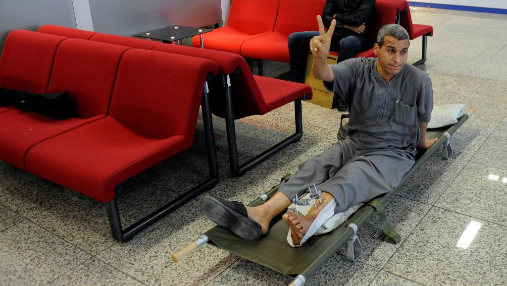 Libyjští pacienti v Praze