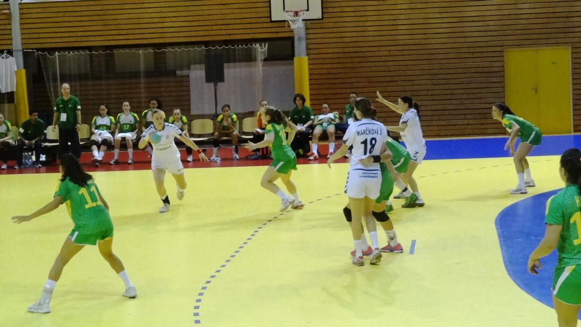 Nejlepší hráčkou utkání byla vyhlášena Martina Weisenbilderová