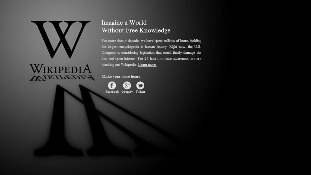 Současný vzhled Wikipedie