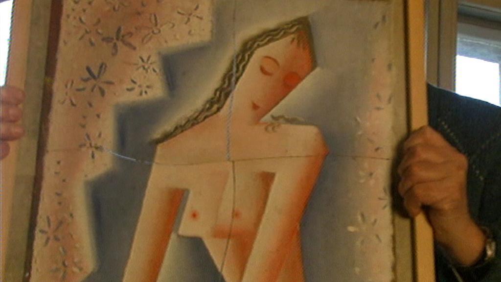 Jeden ze zavržených Čapkových obrazů