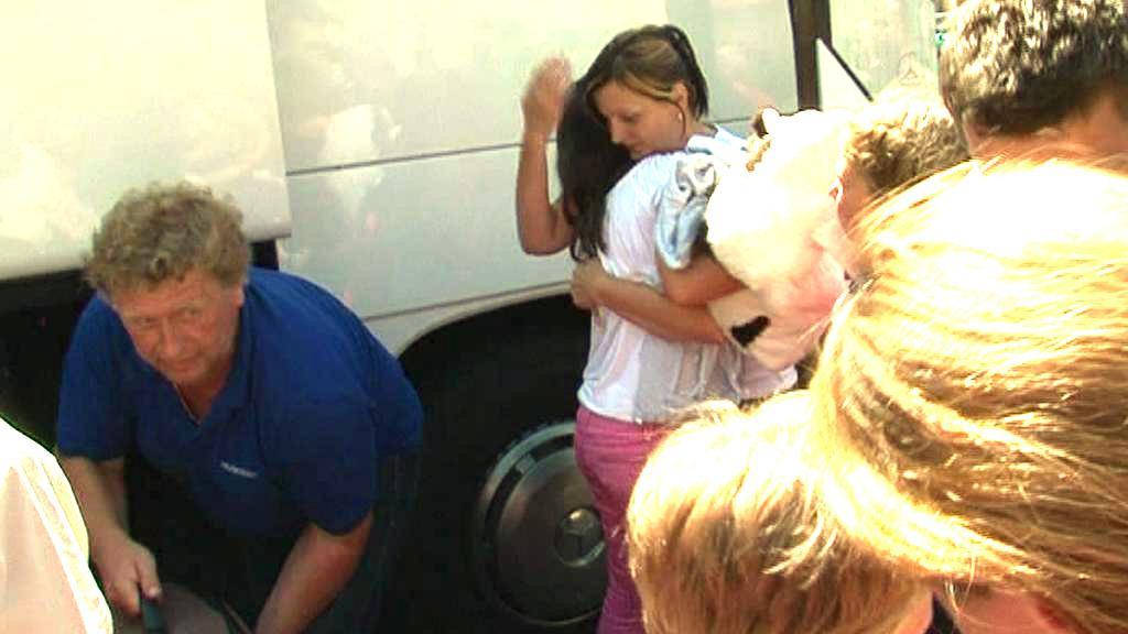 Děti se po nehodě v pořádku vrátily domů