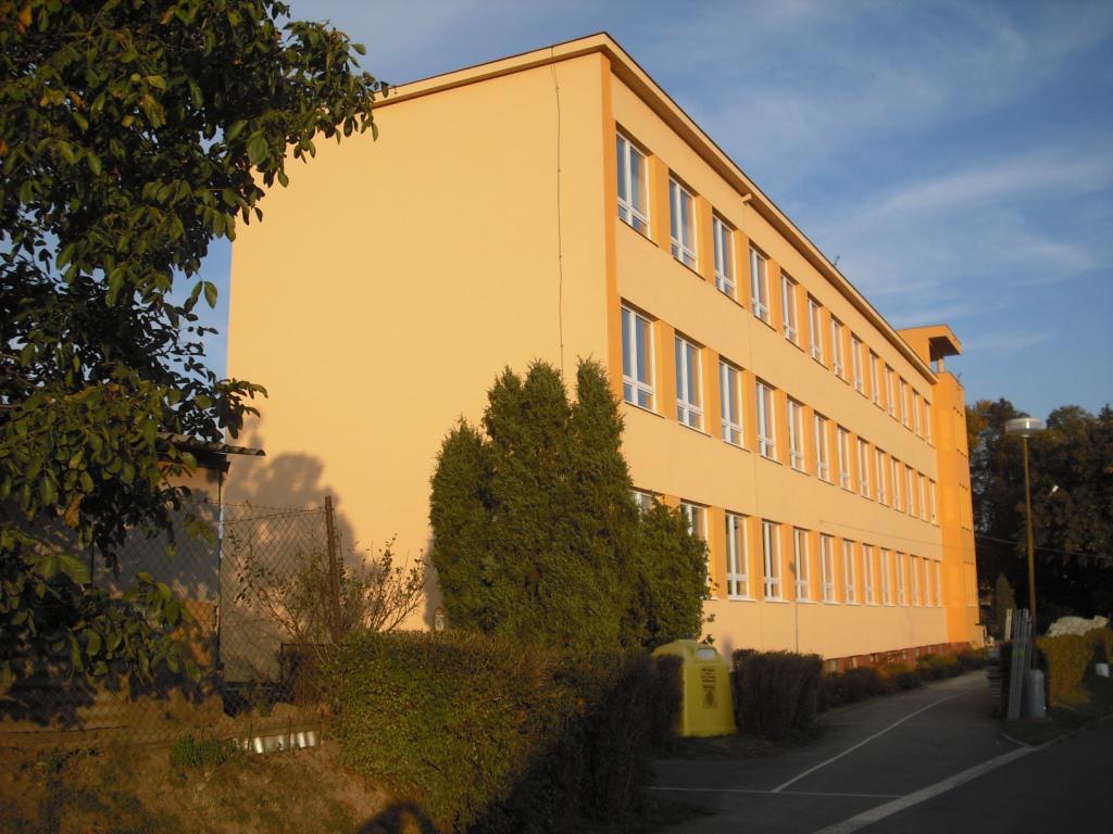 Budova Základní školy Trhový Štěpánov