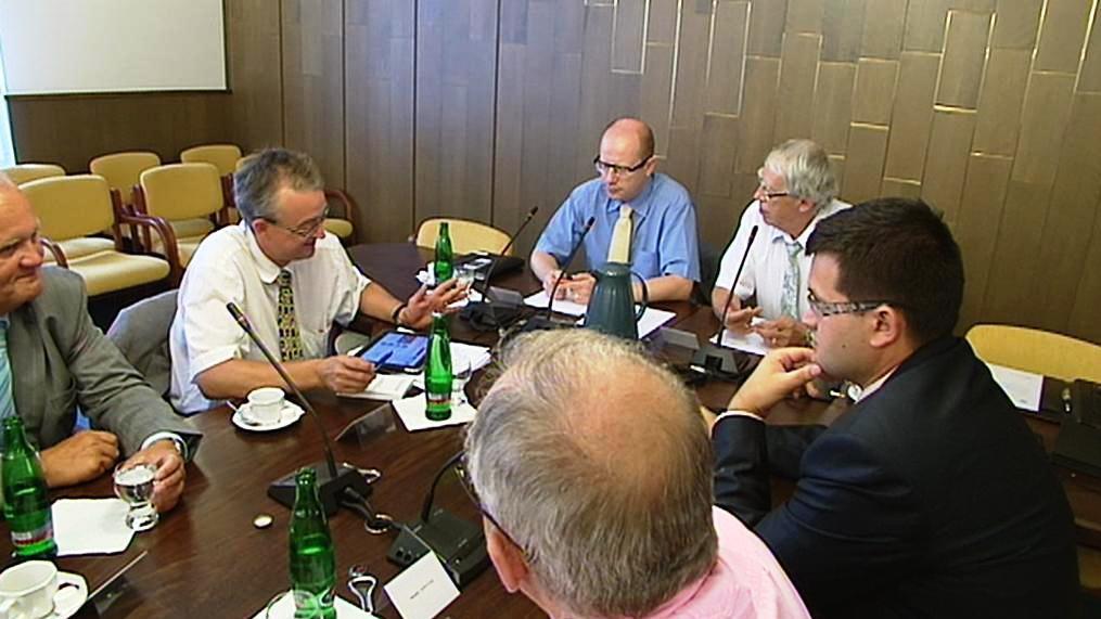 Zasedání mandátového a imunitního výboru